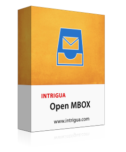 Read & Open MBOX file Using Free Intrigua MBOX Viewer Software