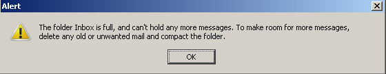 thunderbird-inbox-full-cannot-receive-email