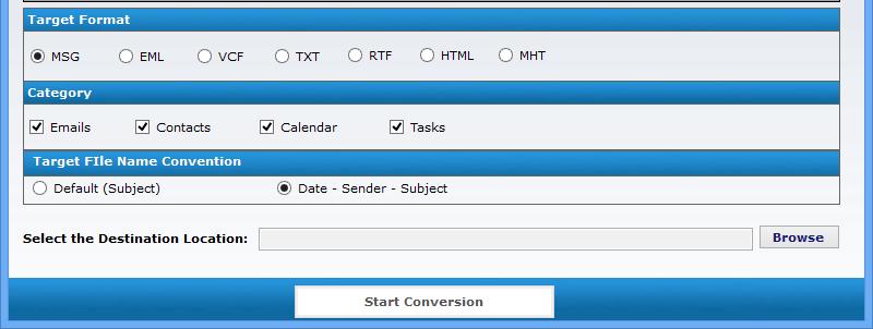 conversion format date